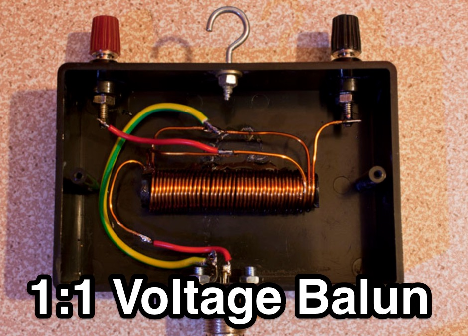 Balun for HF wire dipoles