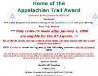 Appalachian Trail Award