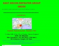 GB3EX East Devon Repeater Group