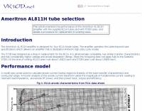 Ameritron AL-811H tube selection
