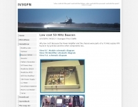 Low cost 50 MHz Beacon
