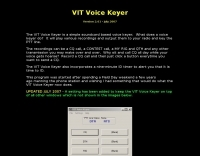 VIT Voice Keyer