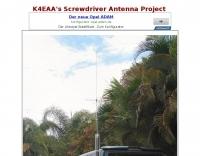 K4EAA's Screwdriver Antenna