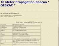 OE3XAC Beacon