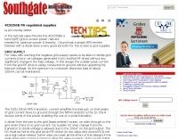 4CX250B PA regulated supplies