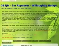 GB3JB 2m Repeater - Willoughby Hedge