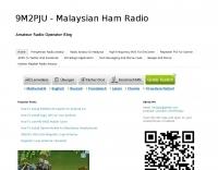 9M2PJU - Amateur Radio from Malaysia