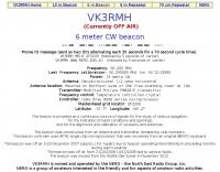 VK3RMH 6 meter beacon