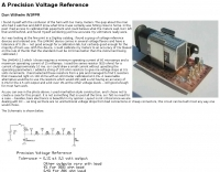 A Precision Voltage Reference
