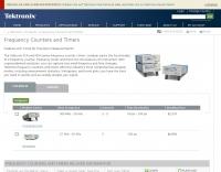 Tektronix - Frequency Counters