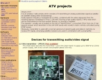 IW3GRX ATV projects