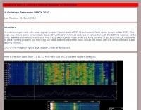 Weak Signal - Linrad and SDR-IQ