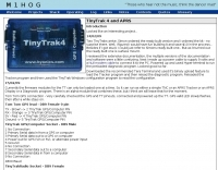 TinyTrak 4 and APRS