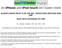 Ham DX Cluster for iPhone