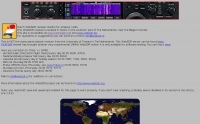 WebSDR from Weert Holland