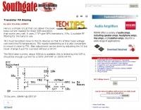 Transistor PA Biasing