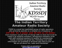 KD5SDJ Indian Territory  Amateur Radio Society