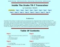 Inside The Drake TR-7