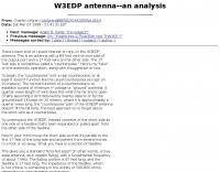 W3EDP antenna--an analysis