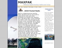 MaxPak Midlands AX25 Packet Radio User Group