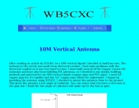 10M Vertical Antenna