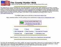 The County Hunter Web