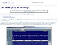 137.7kHz QRSS on one chip
