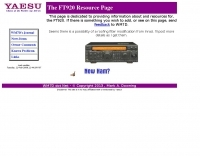 Yaesu FT-920 Resource Page