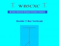 Double T Bar Verticals