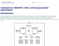 Coil measurement experiment