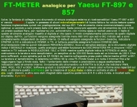 HomeMade FT-meter for Yaesu 897 and 857