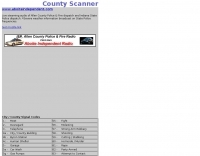 Indiana State Police Live Scanner