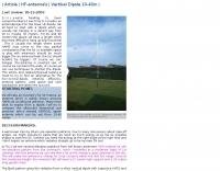 Vertical Dipole 10-40m