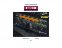 FT-920 specifications