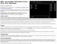 QRQ  CW trainer