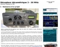 HF Receiver by F6CRP