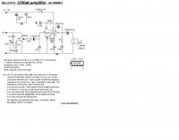 12W amplifier