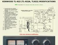 KENWOOD TL-922 modifications