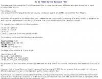 Elecraft K2 - Narrow Bandpass Filter