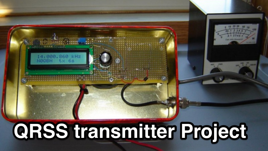 Build your own QRSS transmitter