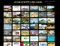 K7PT QSL Card collection