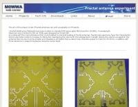 HF Fractal antenna by M0WWA