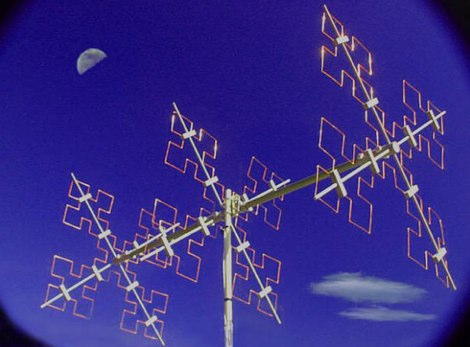 Fractal Antenna for ham radio bands
