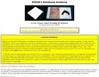 N5ESE - Notebook Antenna