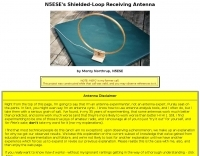 Shielded-Loop Receiving Antenna