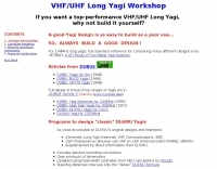 VHF/UHF Long Yagi Workshop