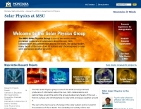 Solar Physics Group - MSU