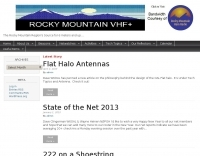 The Rocky Mountain VHF+