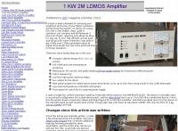 1KW 2 Meter Amplifier