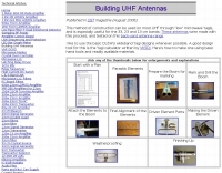 Building UHF Antennas